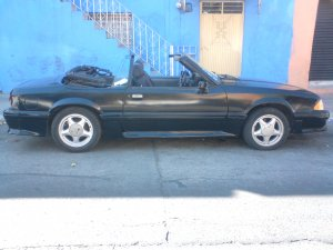 Ford Mustang Convertible 1989, Automática, 5 litres