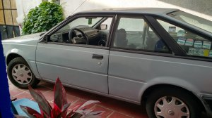 Nissan 100NX 1985, Manual