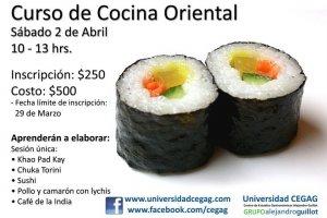 Curso de cocina oriental 2 de abril inscripci n - Cursos de cocina en ciudad real ...
