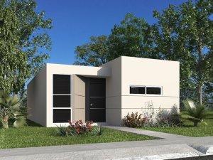 Hermosa casa minimalista en merida yuc fracc la joya for Casa minimalista un nivel