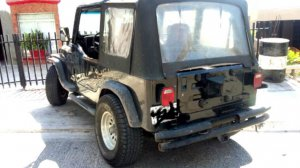 Jeep Wrangler 1983, Manual, 1.3 litres