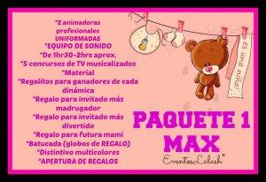 Animadoras Para Baby Shower Di No A Los Juegos Caseros Mexico Df