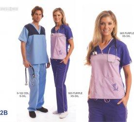 Uniformes Clinicos Allprints