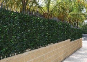 Mallas plasticas y muros verdes plantas artificiales for Plantas decorativas artificiales df