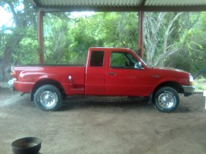 Ford Ranger 1999, Manual